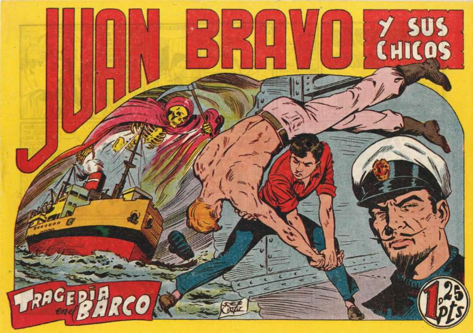 Comic Book Cover For Juan Bravo 21