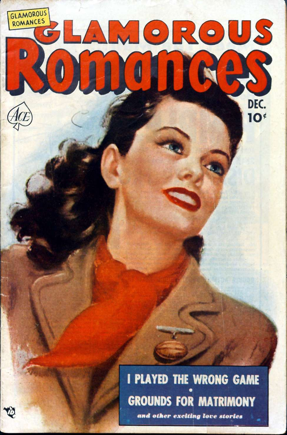 Comic Book Cover For Glamorous Romances #56
