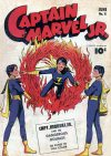 Cover For Captain Marvel Jr. 8