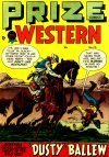 Cover For Prize Comics Western 70