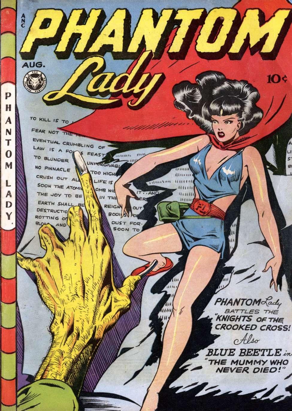 Comic Book Cover For Phantom Lady #13