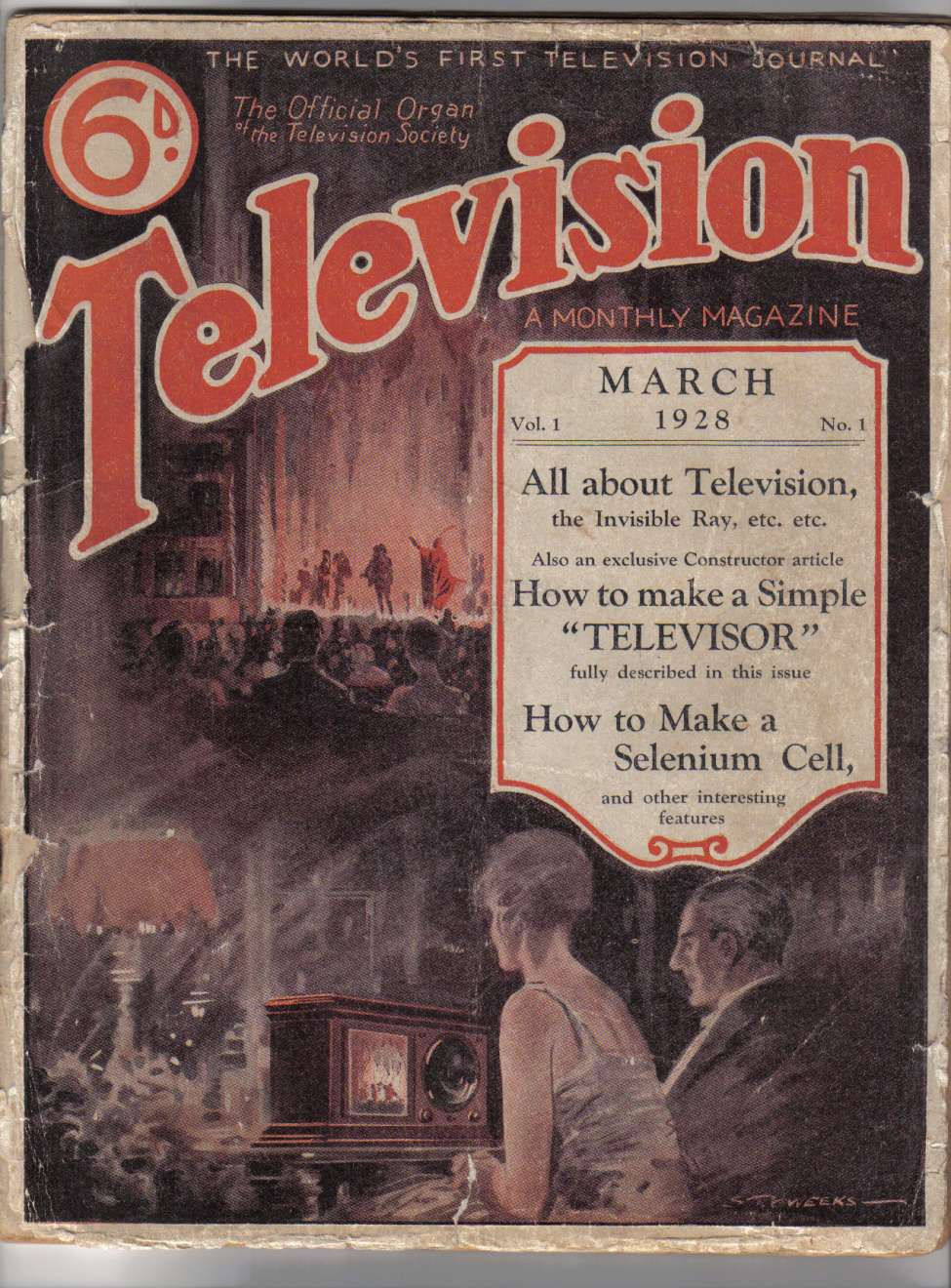 Comic Book Cover For Television v01 01
