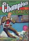 Cover For Champion Comics 4