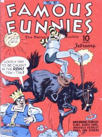 Large Thumbnail For Famous Funnies #91