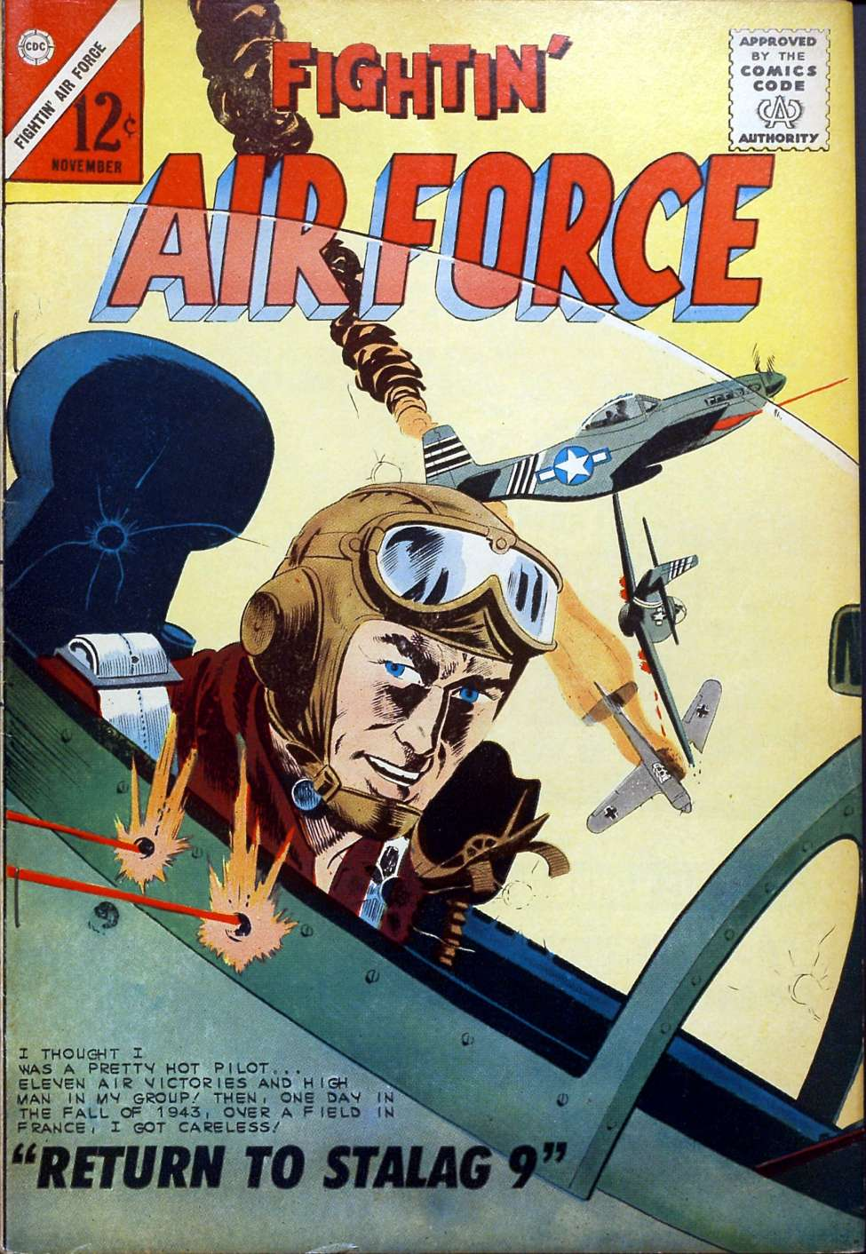 Comic Book Cover For Fightin' Air Force #41