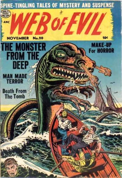 Comic Book Cover For Web of Evil #20