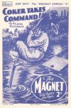 Cover For The Magnet 1647 Coker Takes Command!