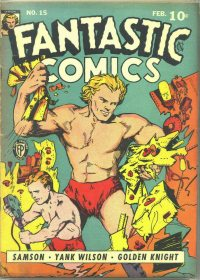 Large Thumbnail For Fantastic Comics #15