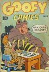 Cover For Goofy Comics 19
