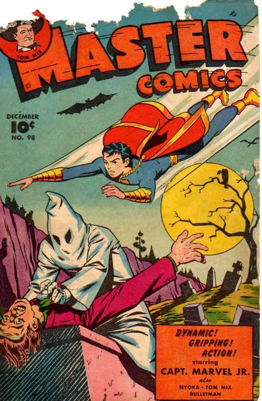 Comic Book Cover For Capt. Marvel Jnr Compilation Vol 15
