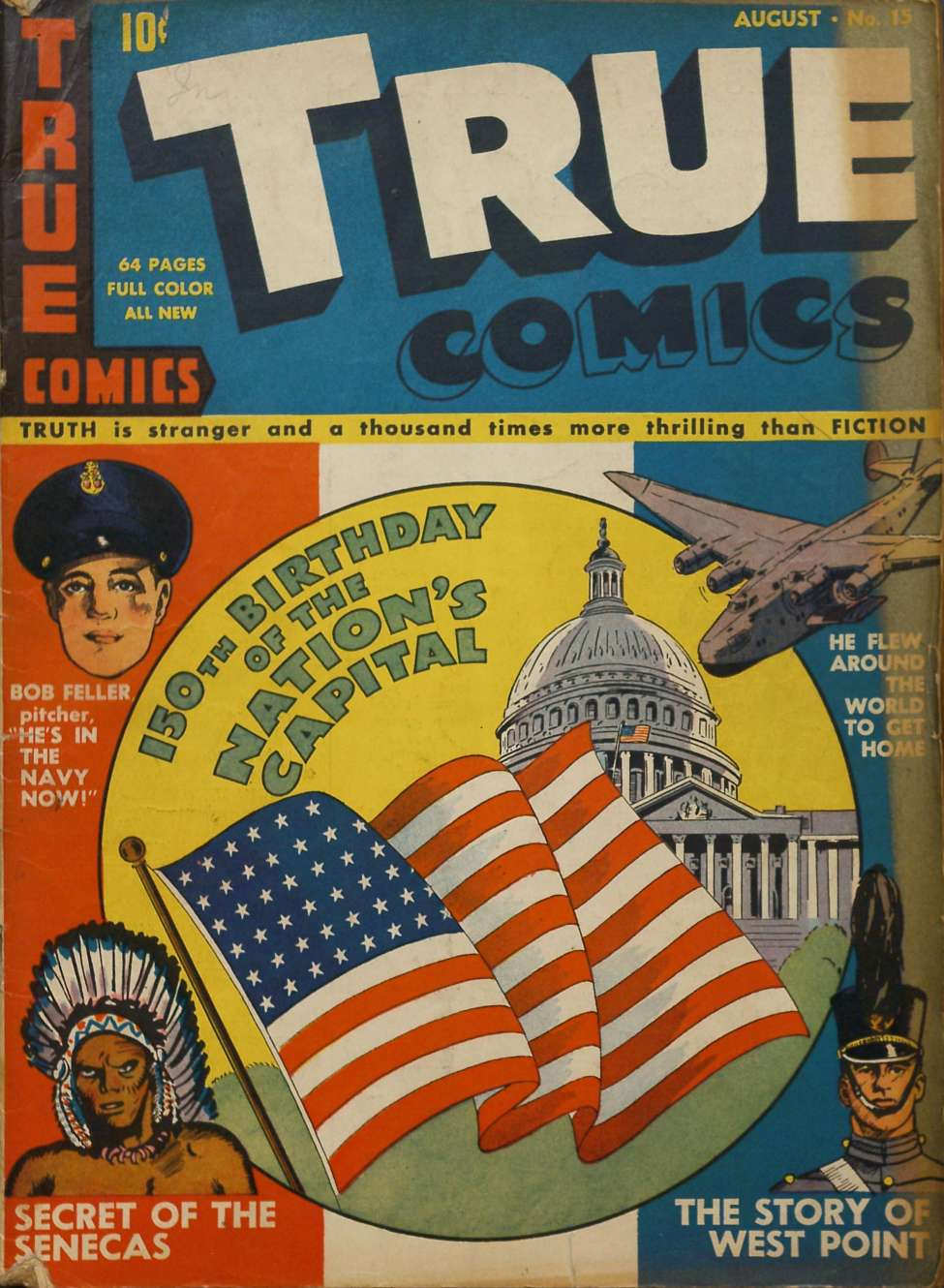 Comic Book Cover For True Comics #15 - Version 2