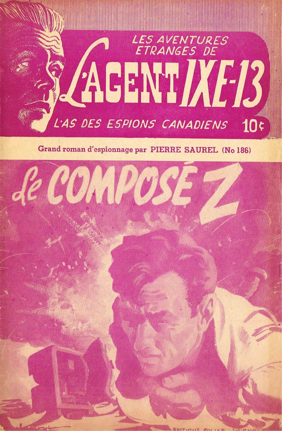 Comic Book Cover For L'Agent IXE-13 v2 186 - Le composé Z