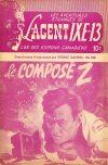 Cover For L'Agent IXE 13 v2 186 Le composé Z