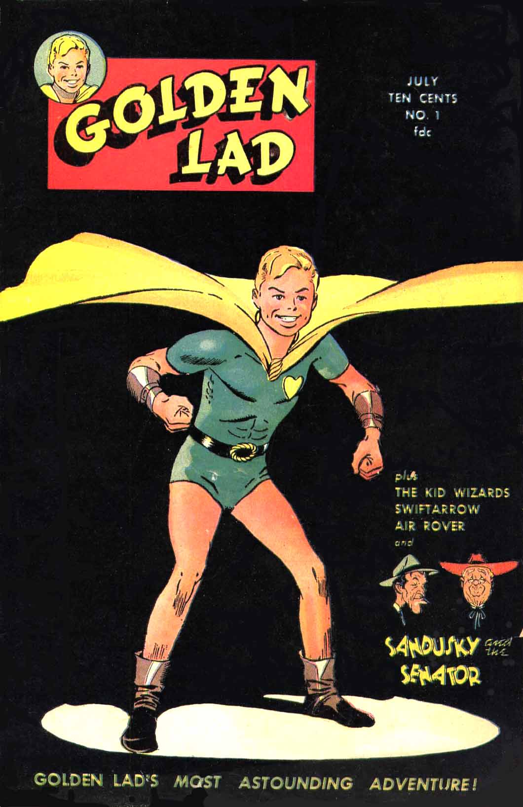Comic Book Cover For Golden Lad Compendium v1.0
