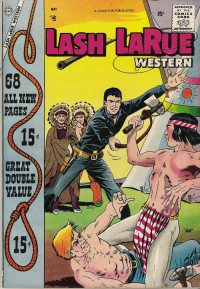 Large Thumbnail For Lash Larue Western #68