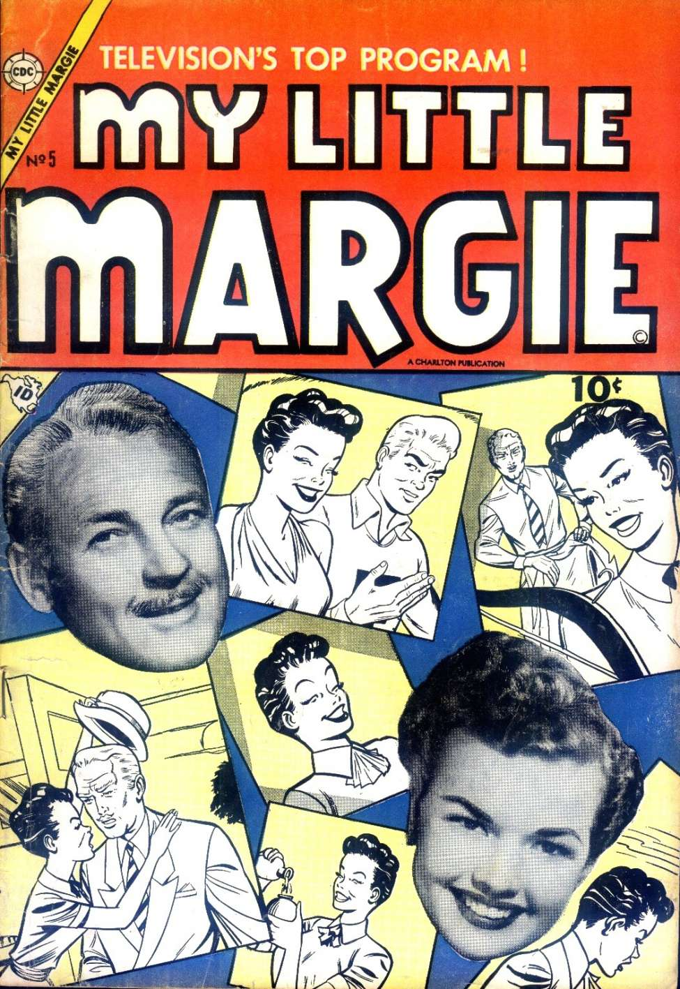 Comic Book Cover For My Little Margie #5
