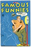 Cover For Famous Funnies 132