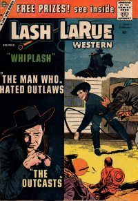 Large Thumbnail For Lash Larue Western #75