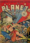 Cover For Planet Comics 1