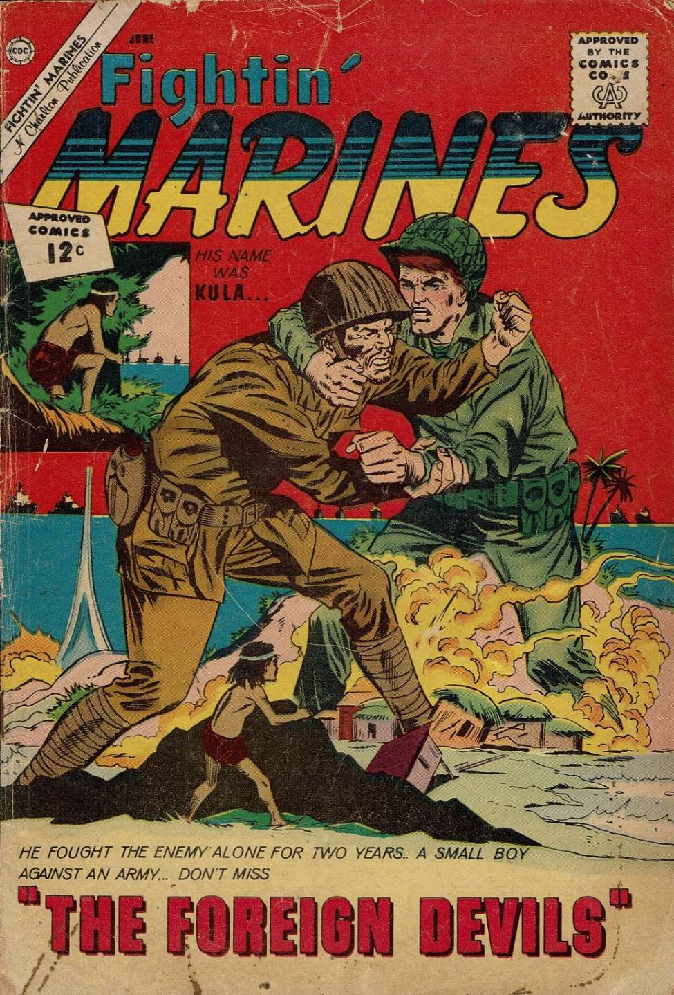 Comic Book Cover For Fightin' Marines #47