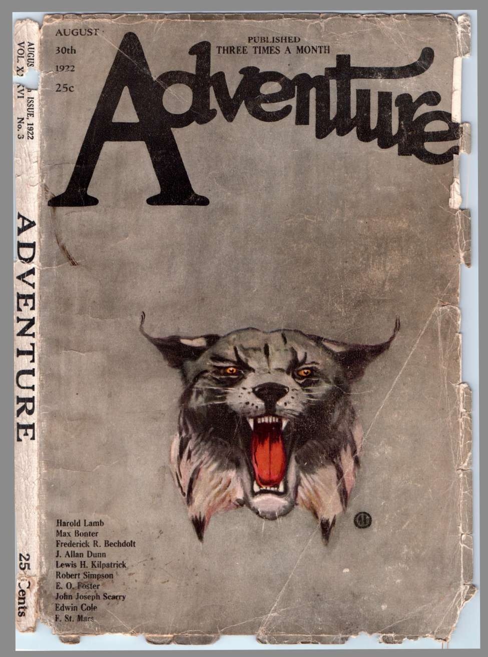 Comic Book Cover For Adventure v036 03