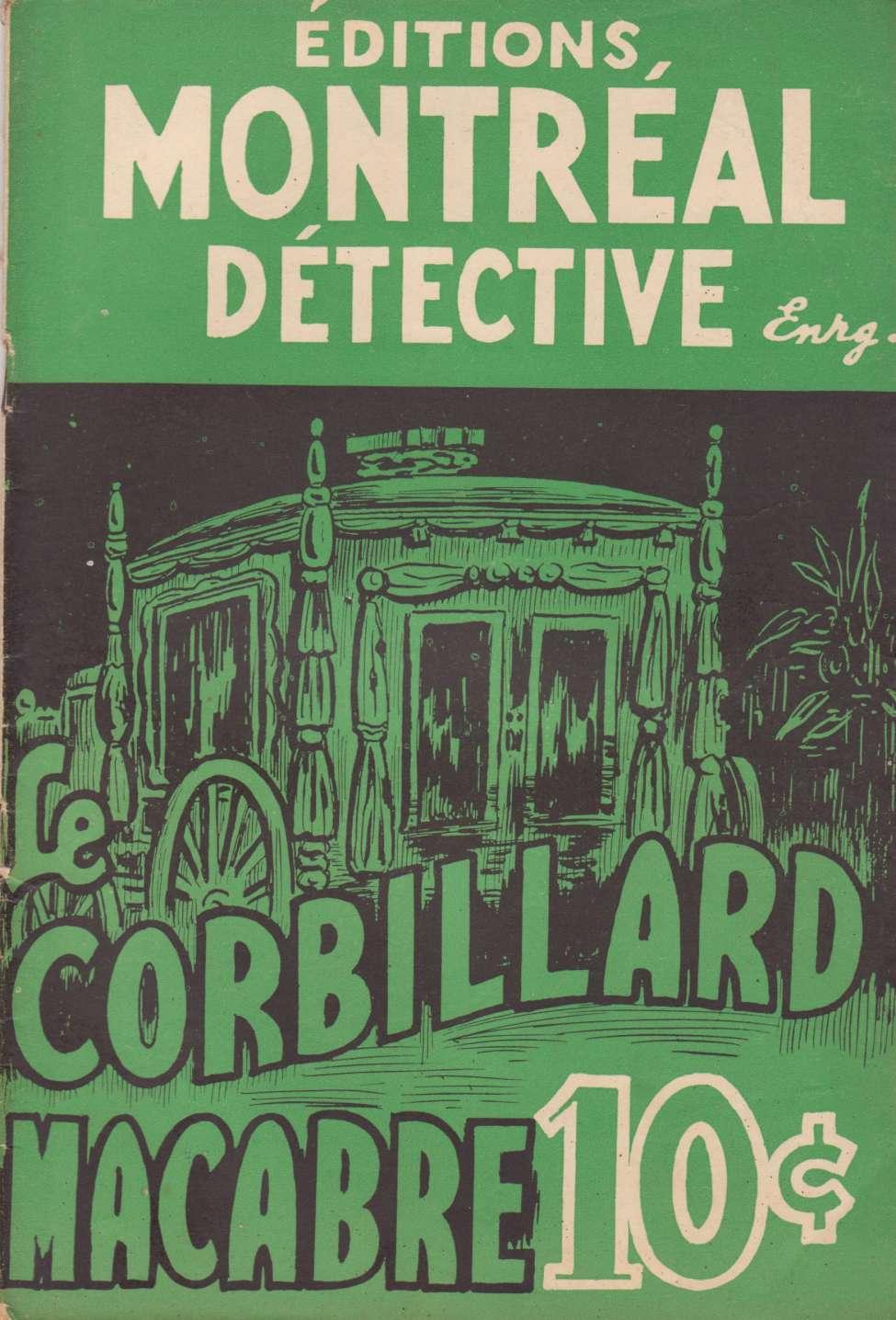 Comic Book Cover For Domino Noir 02 - Le corbillard macabre
