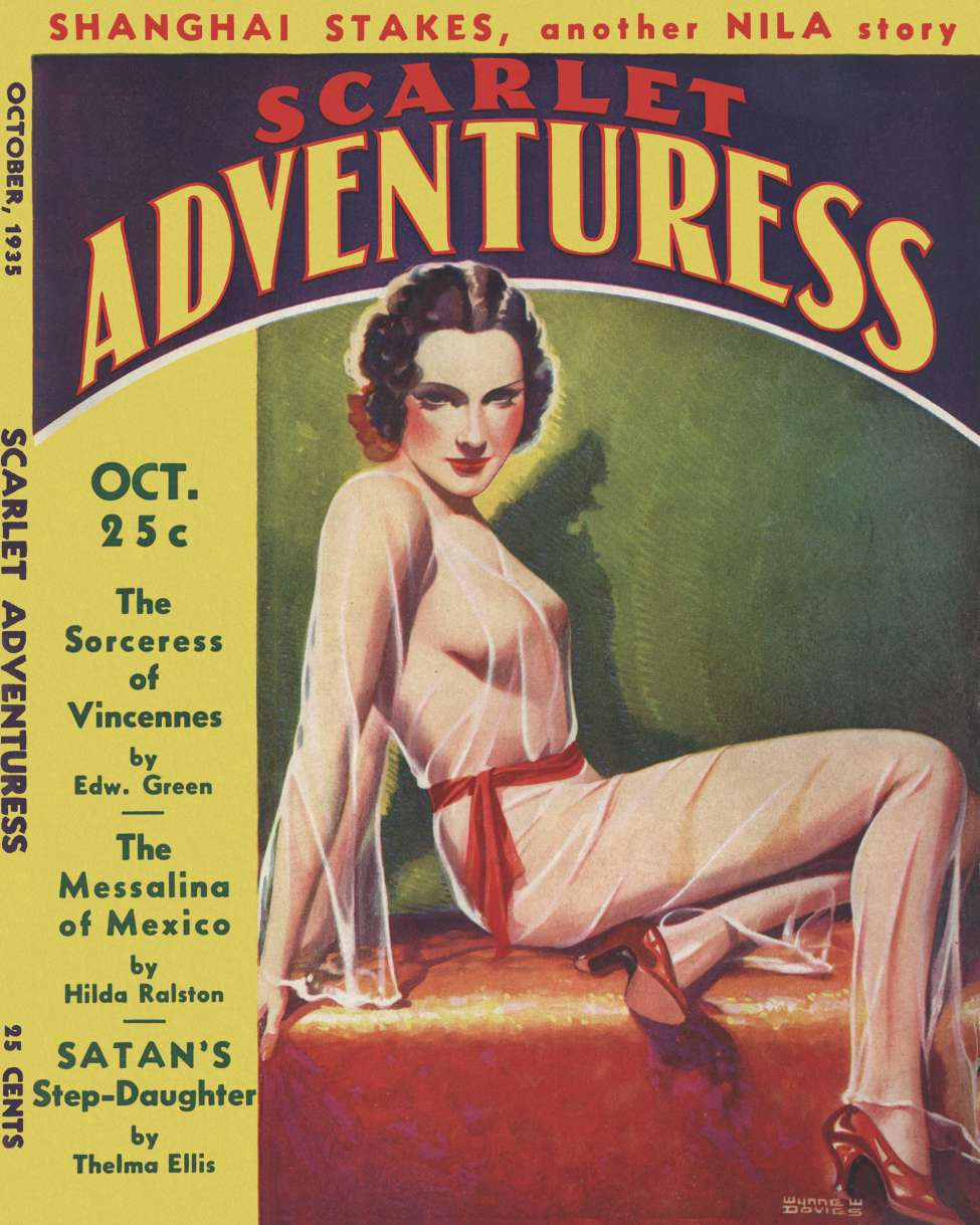 Comic Book Cover For Scarlet Adventuress v01 03