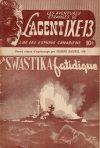 Cover For L'Agent IXE 13 v2 66 La swastika fatidique