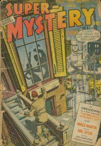Large Thumbnail For Super-Mystery Comics v8 #3