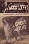 Cover For L'Agent IXE 13 v2 119 L'atroce supplice