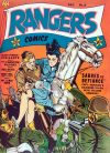 Cover For Rangers Comics 8