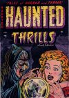 Cover For Haunted Thrills 12