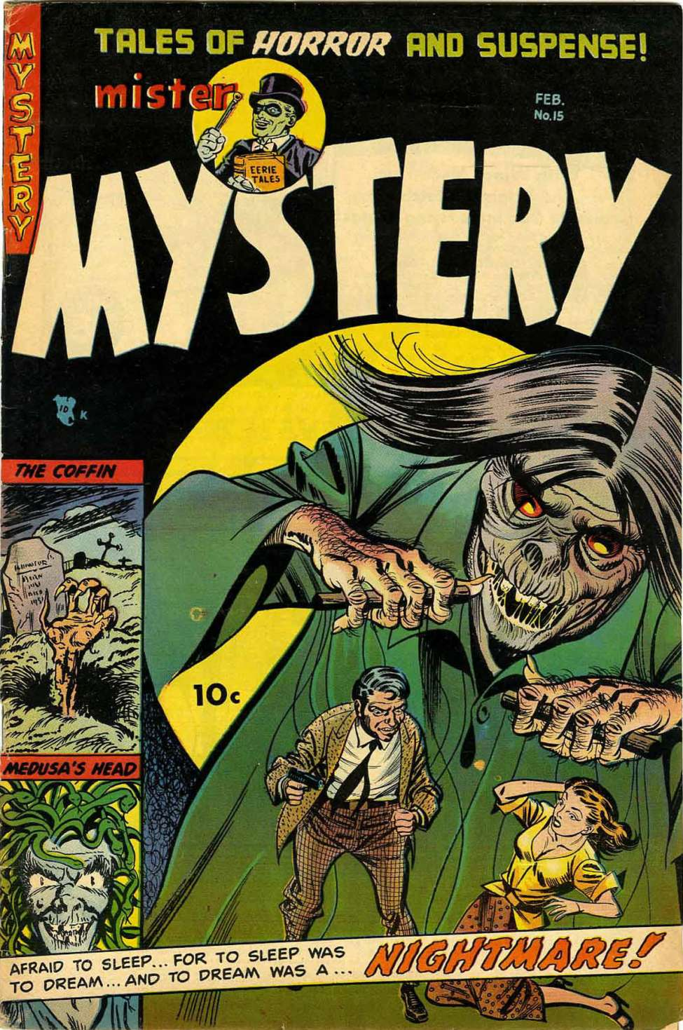 Comic Book Cover For Mister Mystery #15 - Version 1