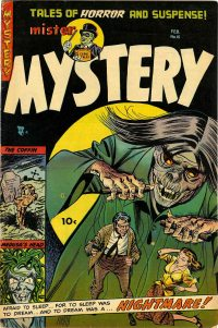 Large Thumbnail For Mister Mystery #15 - Version 1