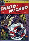 Cover For Shield Wizard Comics 11