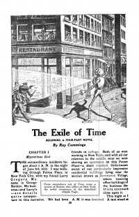 Large Thumbnail For Astounding Serial - The Exile of Time - R Cummings