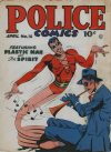 Cover For Police Comics 18