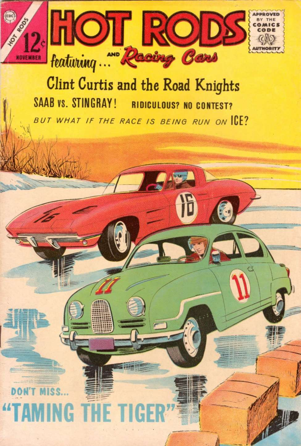 Comic Book Cover For Hot Rods and Racing Cars #71