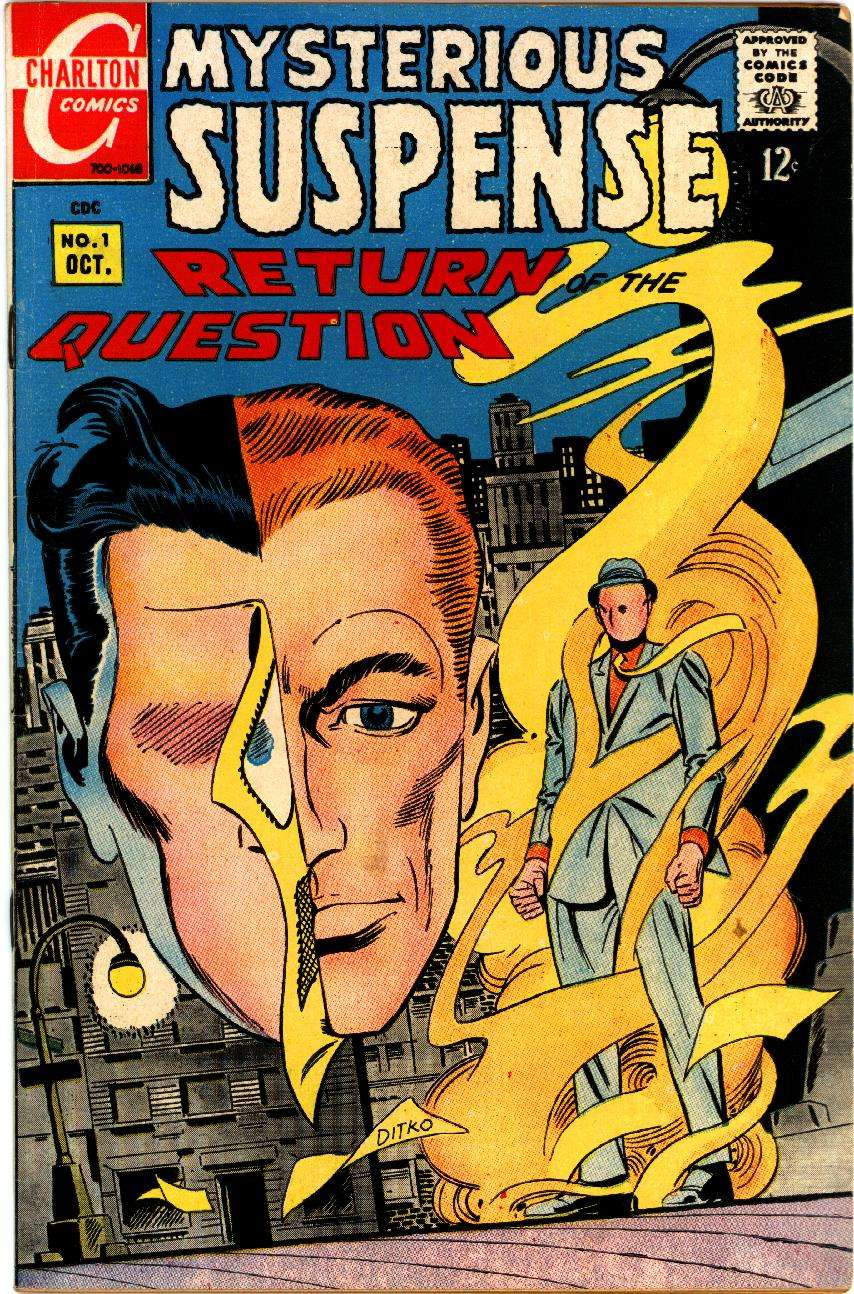 Cook Book Cover Questions : Mysterious suspense charlton comic book plus