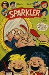 Cover For Sparkler Comics 77