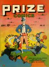 Cover For Prize Comics 23