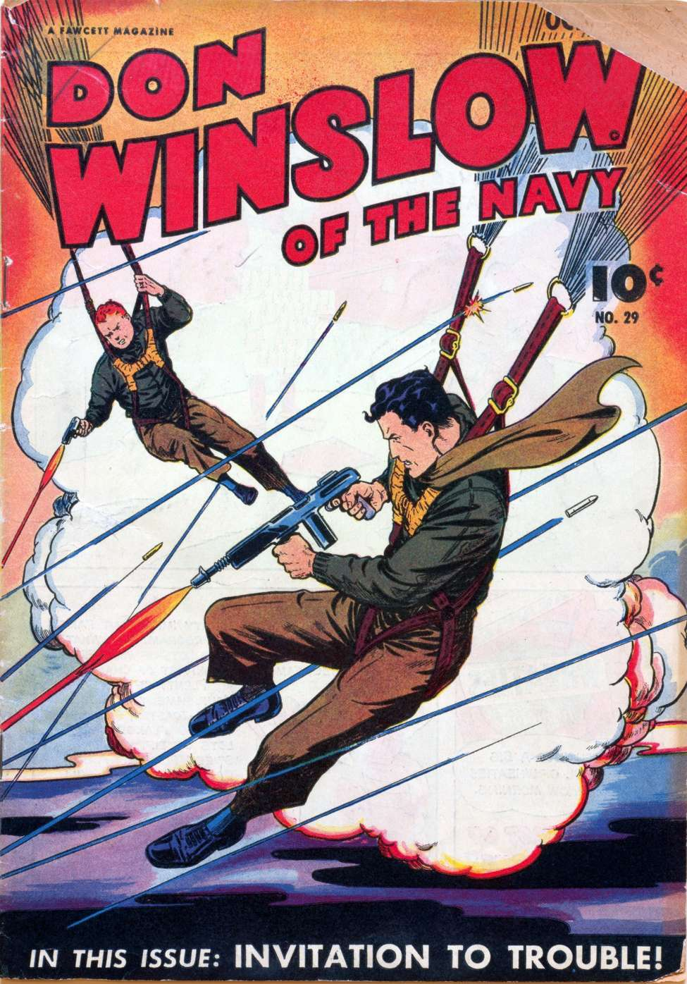 Comic Book Cover For Don Winslow of the Navy #29