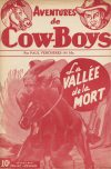 Cover For Aventures de Cow Boys 4 La vallée de la mort