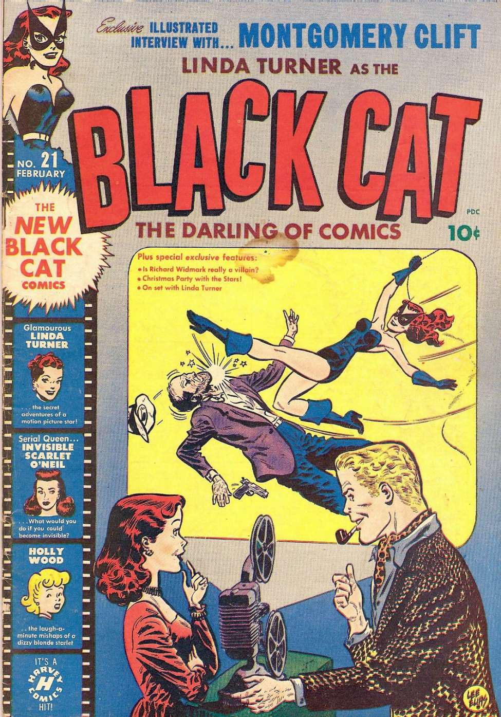 Comic Book Cover For Black Cat #21