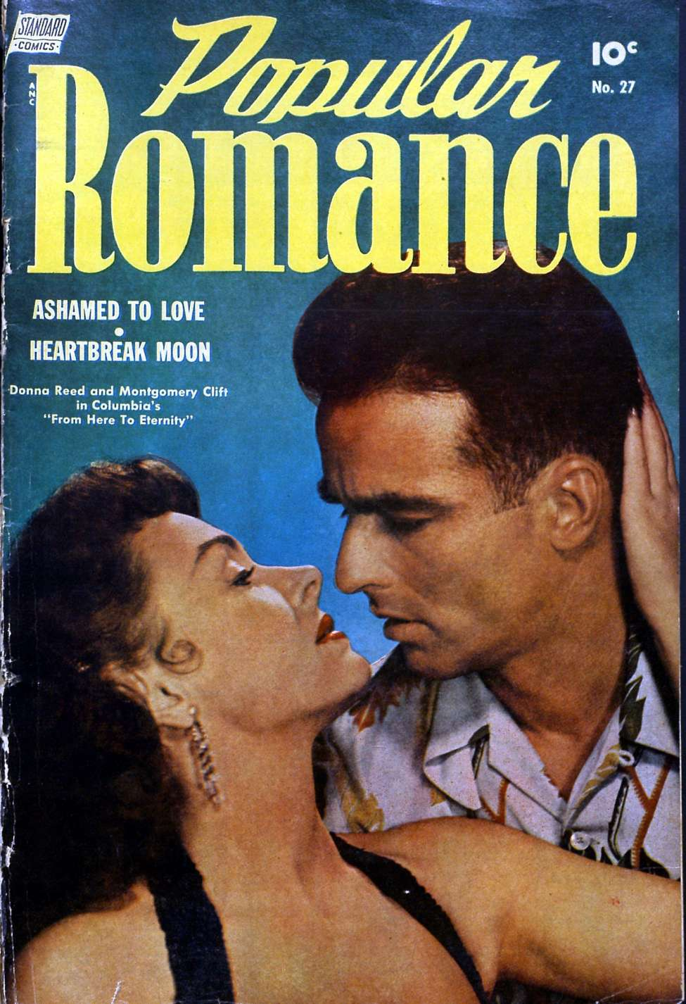 Comic Book Cover For Popular Romance #27
