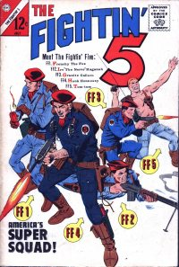 Large Thumbnail For Fightin' Five #28