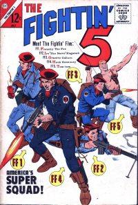 Large Thumbnail For Fightin' Five #28