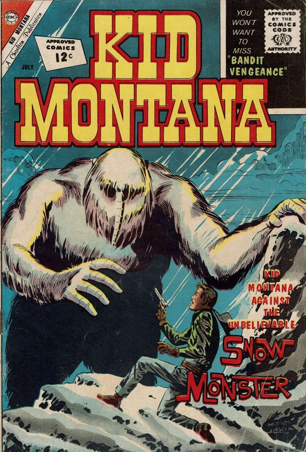 Comic Book Cover For Kid Montana #35