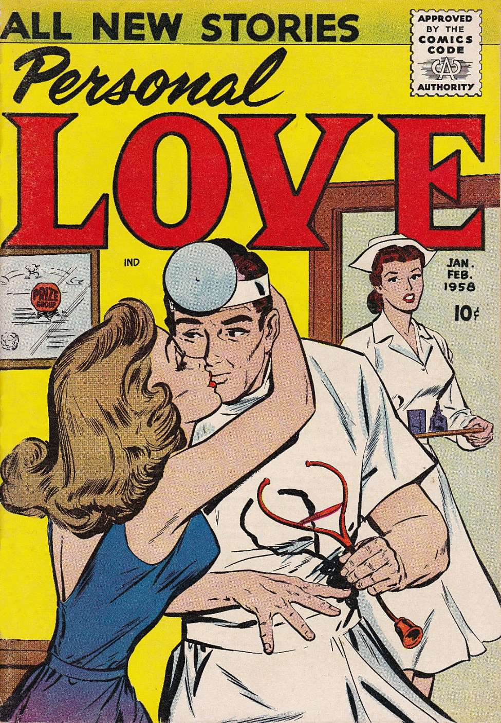 Comic Book Cover For Personal Love v1 #3