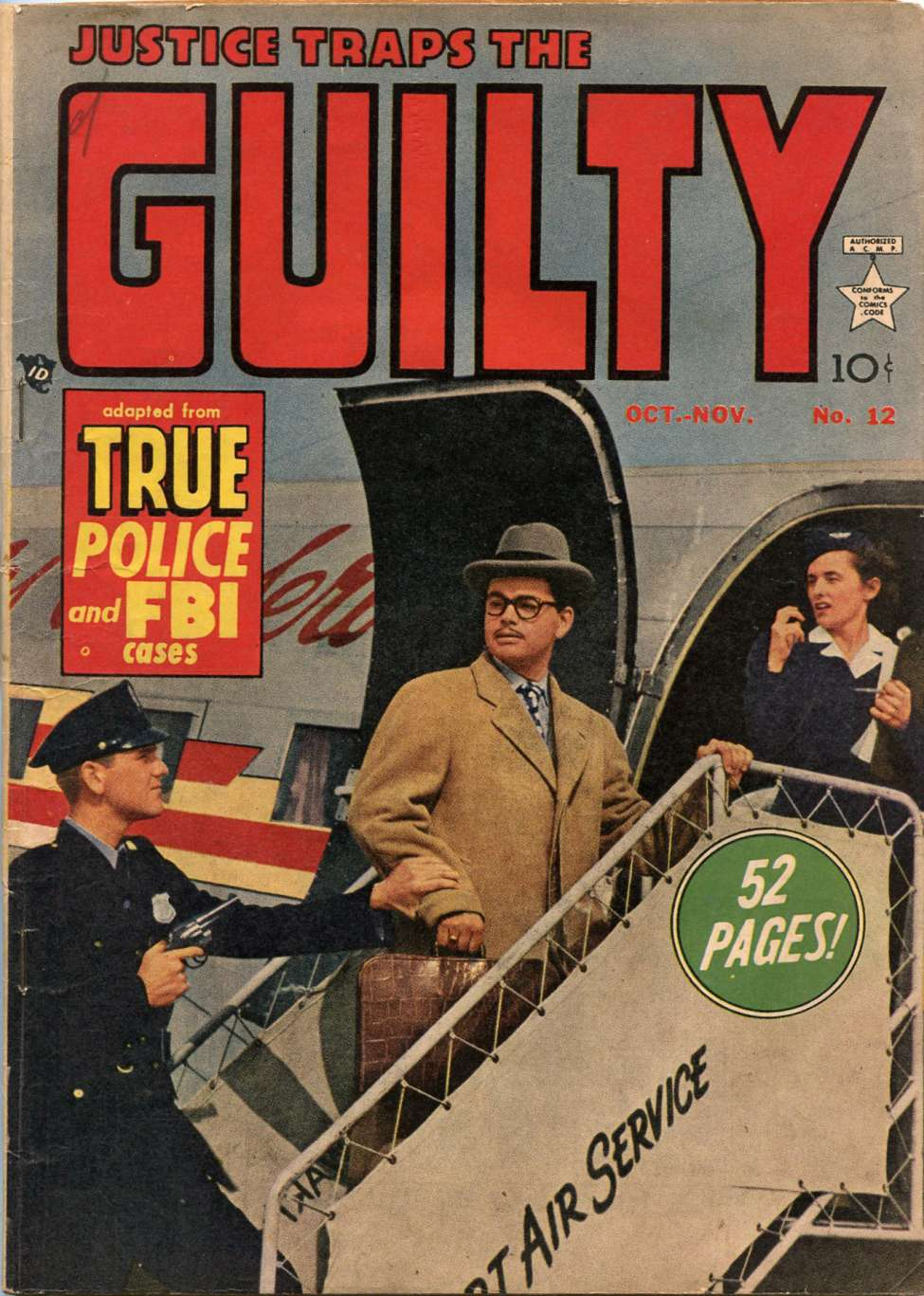 Comic Book Cover For Justice Traps the Guilty v2 6 (12)